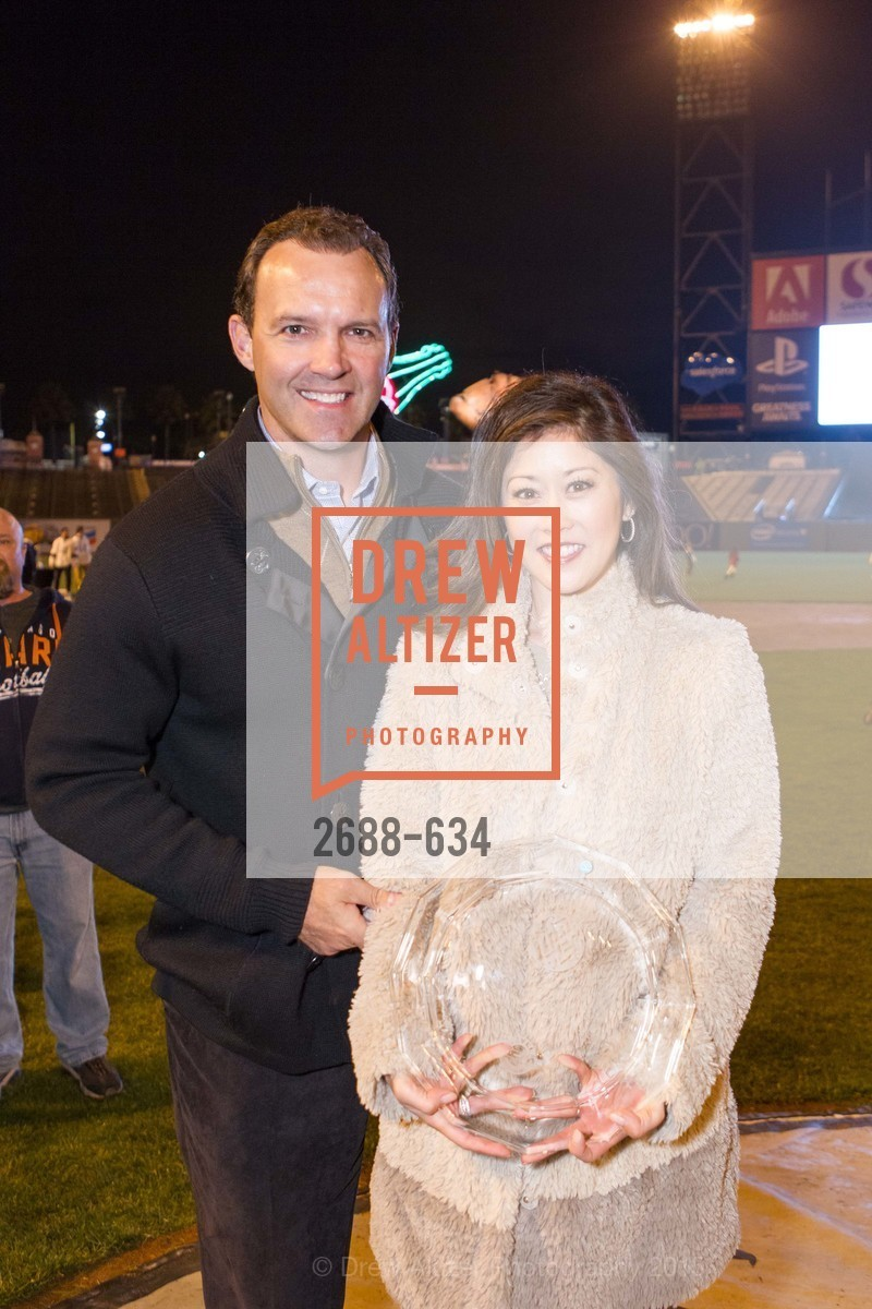 Bret Hedican, Kristi Yamaguchi, Holiday Heroes 2015, AT&T Park, December 7th, 2015,Drew Altizer, Drew Altizer Photography, full-service event agency, private events, San Francisco photographer, photographer California