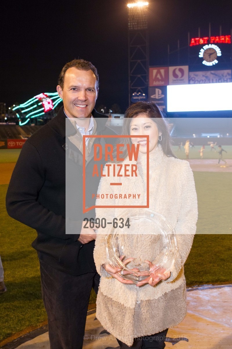 Bret Hedican, Kristi Yamaguchi, Holiday Heroes 2015, AT&T Park, December 7th, 2015,Drew Altizer, Drew Altizer Photography, full-service agency, private events, San Francisco photographer, photographer california