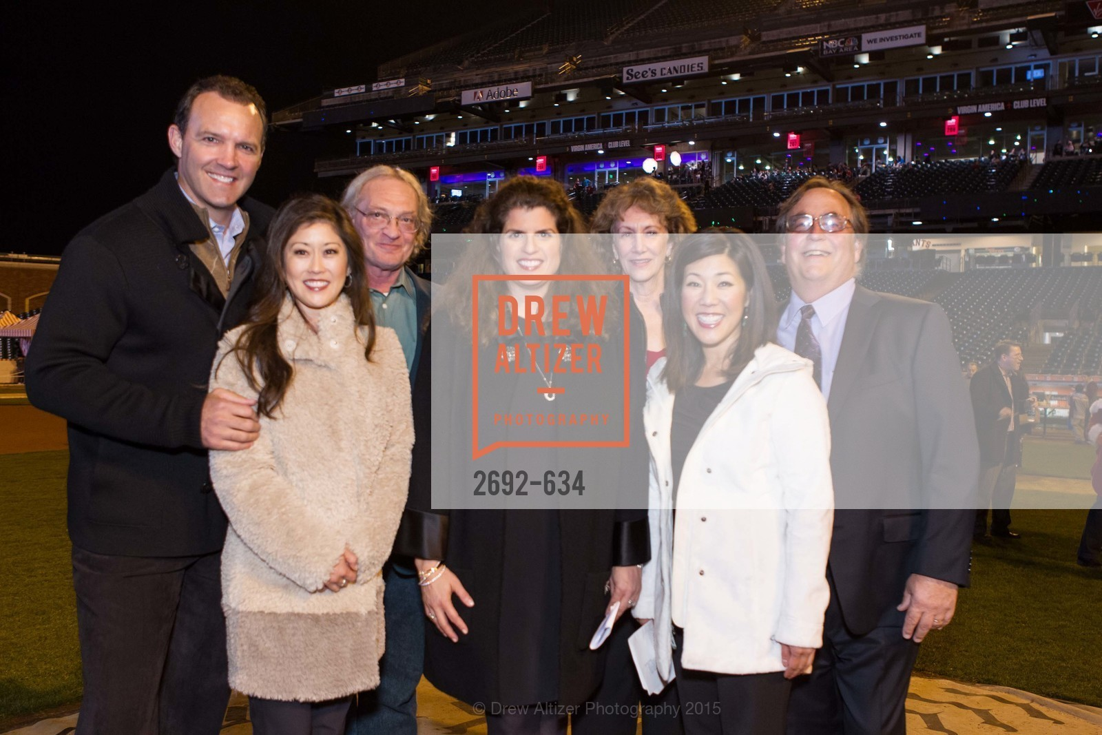 Bret Hedican, Kristi Yamaguchi, Amy Wender-Hoch, Liane Baker, Michael Baker, Holiday Heroes 2015, AT&T Park, December 7th, 2015,Drew Altizer, Drew Altizer Photography, full-service agency, private events, San Francisco photographer, photographer california
