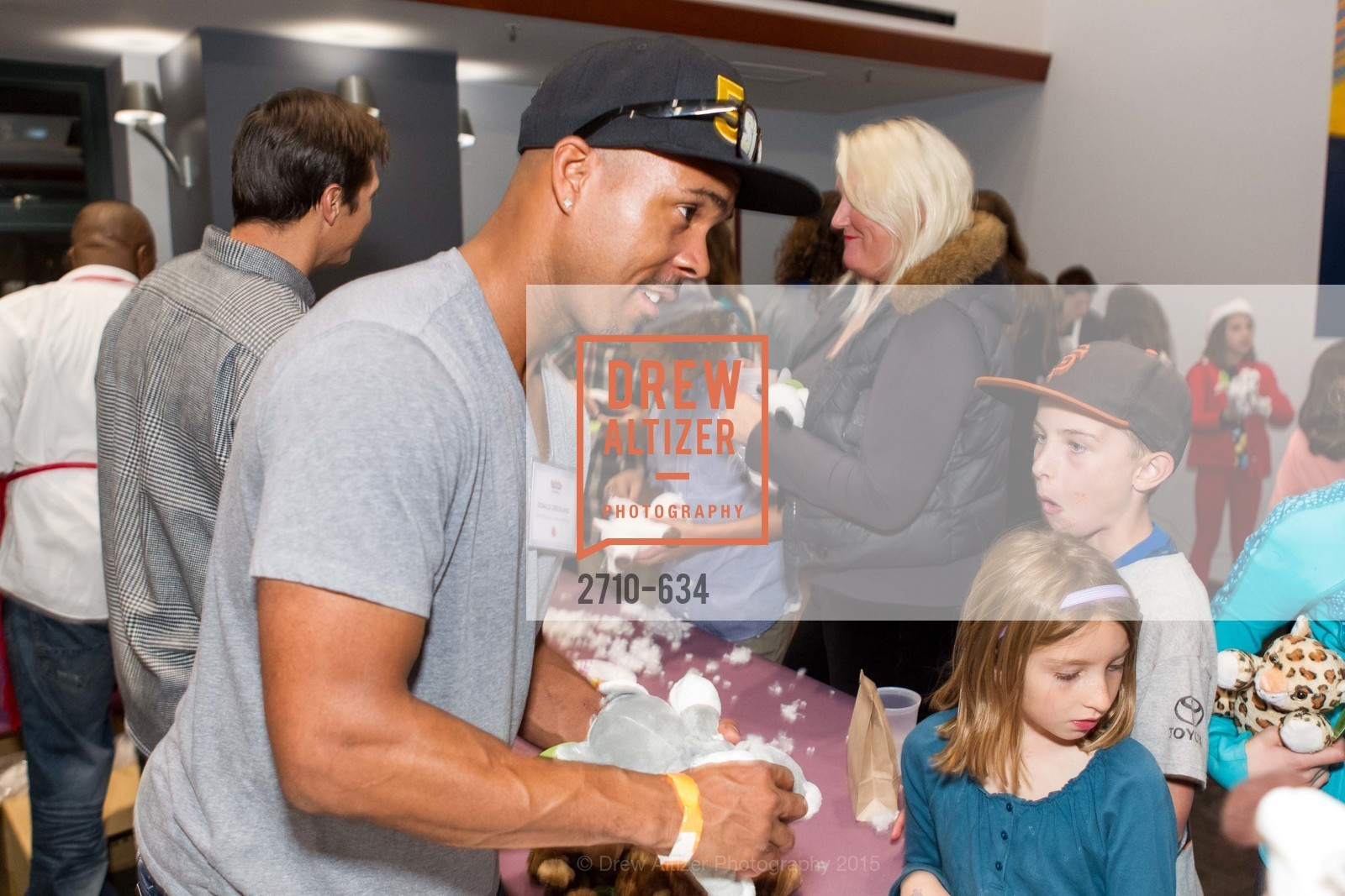 Donald Strickland, Holiday Heroes 2015, AT&T Park, December 7th, 2015,Drew Altizer, Drew Altizer Photography, full-service agency, private events, San Francisco photographer, photographer california