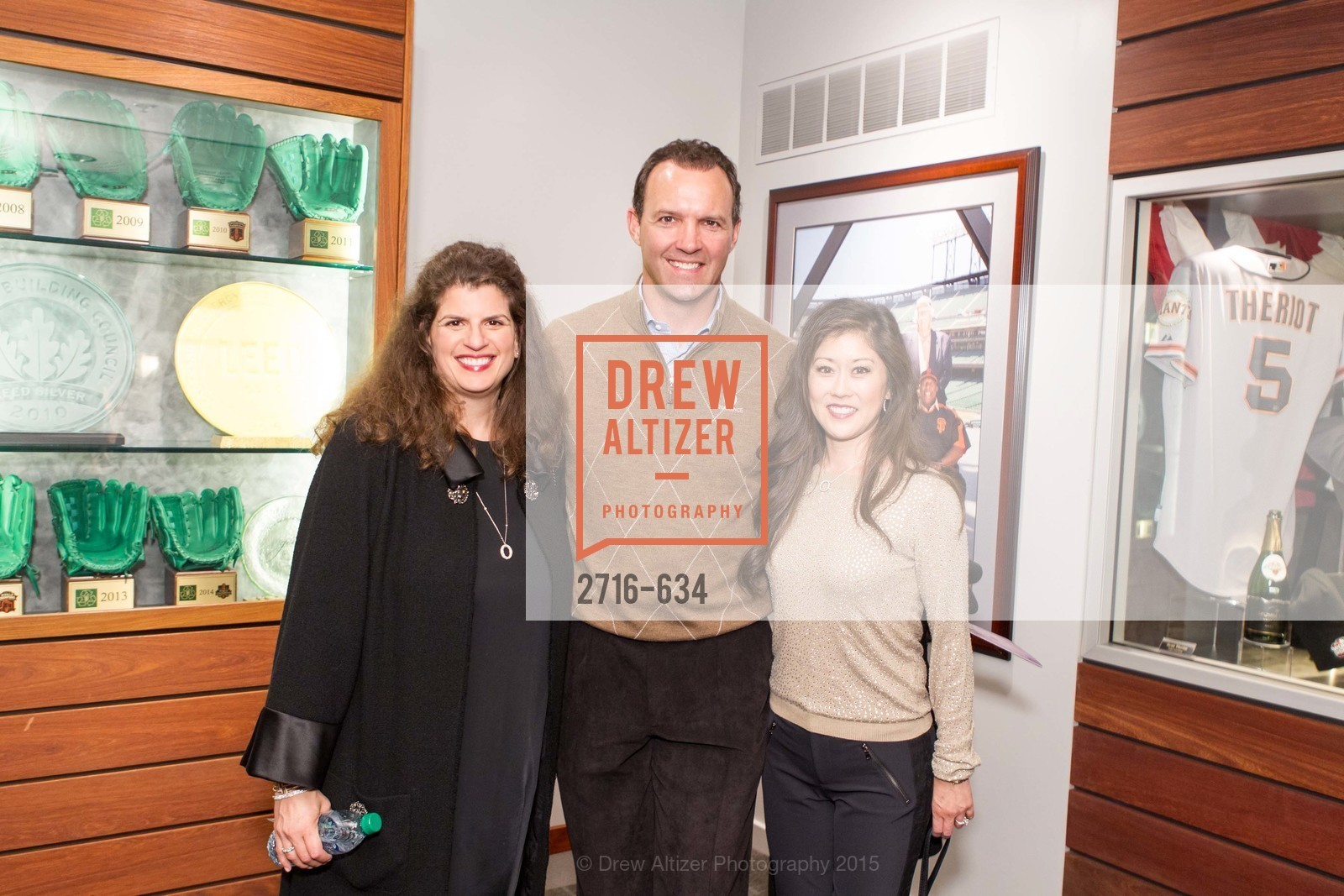 Amy Wender-Hoch, Bret Hedican, Kristi Yamaguchi, Holiday Heroes 2015, AT&T Park, December 7th, 2015,Drew Altizer, Drew Altizer Photography, full-service agency, private events, San Francisco photographer, photographer california