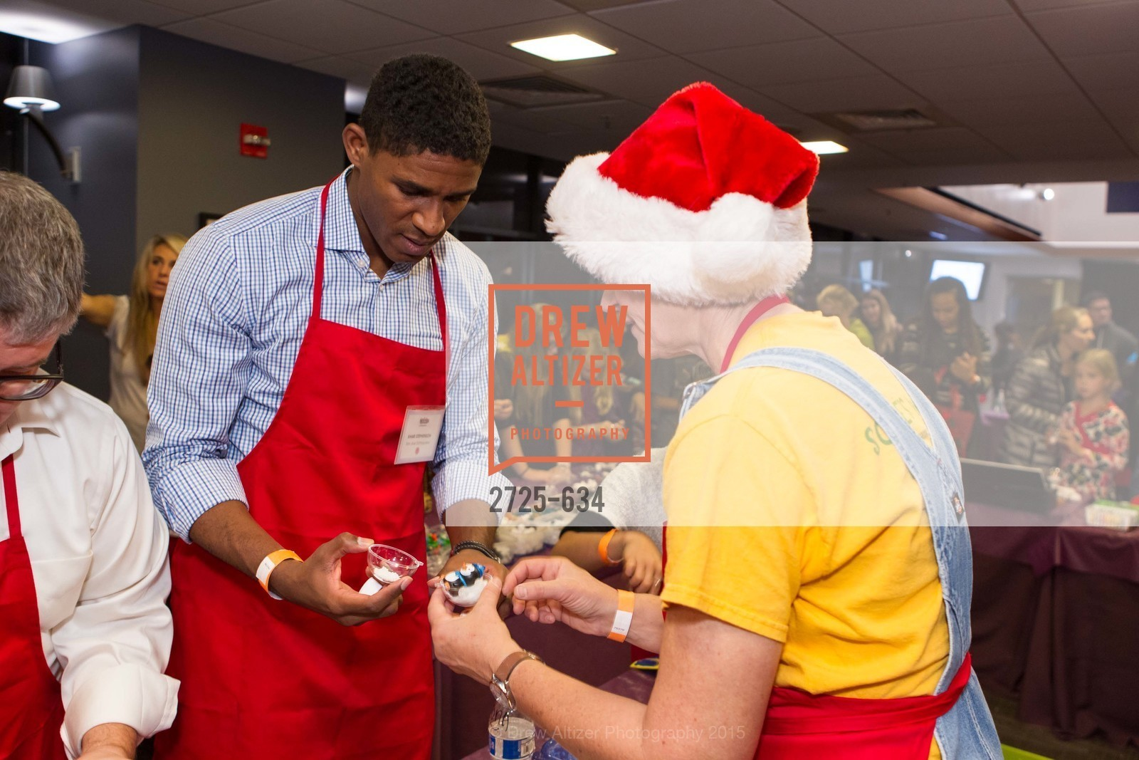 Khari Stephenson, Holiday Heroes 2015, AT&T Park, December 7th, 2015,Drew Altizer, Drew Altizer Photography, full-service agency, private events, San Francisco photographer, photographer california