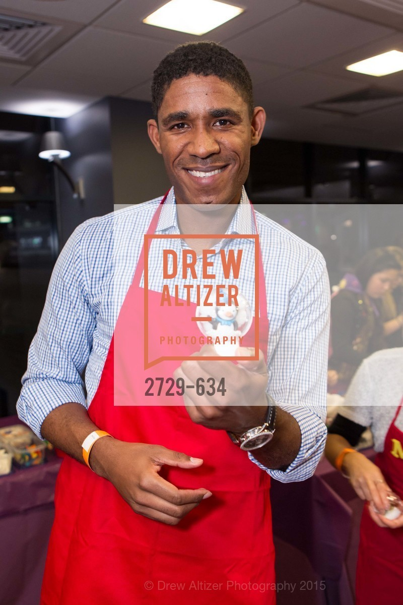 Khari Stephenson, Holiday Heroes 2015, AT&T Park, December 7th, 2015,Drew Altizer, Drew Altizer Photography, full-service event agency, private events, San Francisco photographer, photographer California