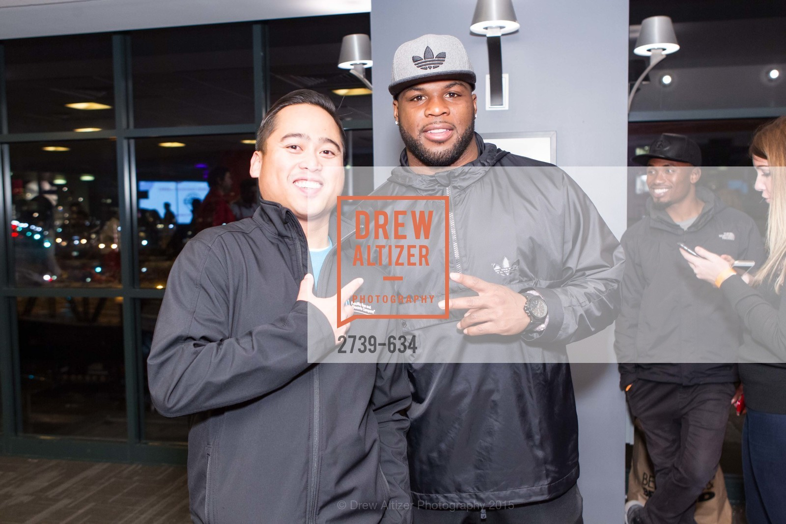 Bernardo Cortez, Carlos Hyde, Holiday Heroes 2015, AT&T Park, December 7th, 2015,Drew Altizer, Drew Altizer Photography, full-service agency, private events, San Francisco photographer, photographer california