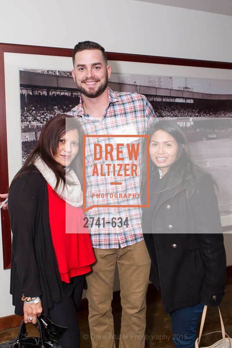 Jenny Rosato, Chris Heston, Grace Santos, Holiday Heroes 2015, AT&T Park, December 7th, 2015,Drew Altizer, Drew Altizer Photography, full-service agency, private events, San Francisco photographer, photographer california