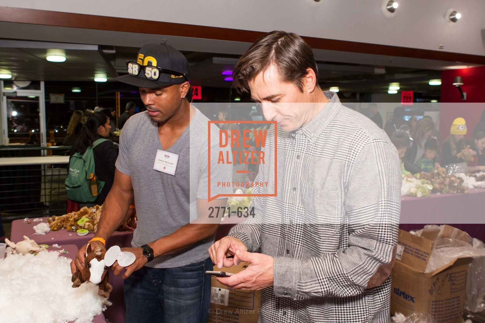 Donald Strickland, Jonny Moseley, Holiday Heroes 2015, AT&T Park, December 7th, 2015,Drew Altizer, Drew Altizer Photography, full-service agency, private events, San Francisco photographer, photographer california