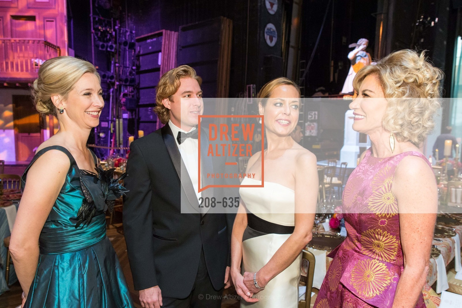 Courtney Labe, Stratton Poland, Charlot Malin, Mary Poland, An Evening on the Stage Honoring Renaissance Man Gordon Getty, War Memorial Opera House. 301 Van Ness Ave, December 7th, 2015,Drew Altizer, Drew Altizer Photography, full-service agency, private events, San Francisco photographer, photographer california