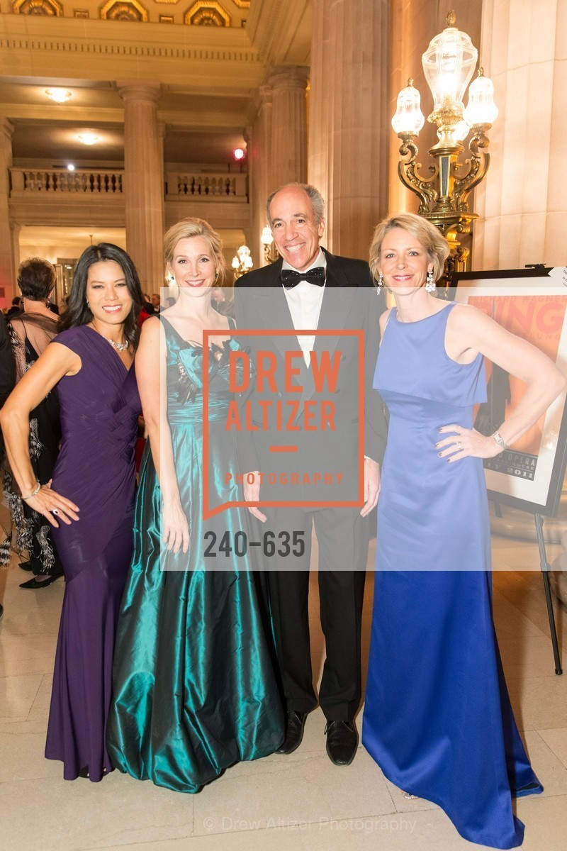 Helen Lin-Murphy, Courtney Labe, Jim Labe, Alex Fairey, An Evening on the Stage Honoring Renaissance Man Gordon Getty, War Memorial Opera House. 301 Van Ness Ave, December 7th, 2015,Drew Altizer, Drew Altizer Photography, full-service agency, private events, San Francisco photographer, photographer california