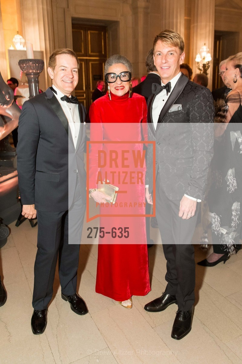 Trent Norris, Joy Venturini Bianchi, Jack Calhoun, An Evening on the Stage Honoring Renaissance Man Gordon Getty, War Memorial Opera House. 301 Van Ness Ave, December 7th, 2015,Drew Altizer, Drew Altizer Photography, full-service agency, private events, San Francisco photographer, photographer california