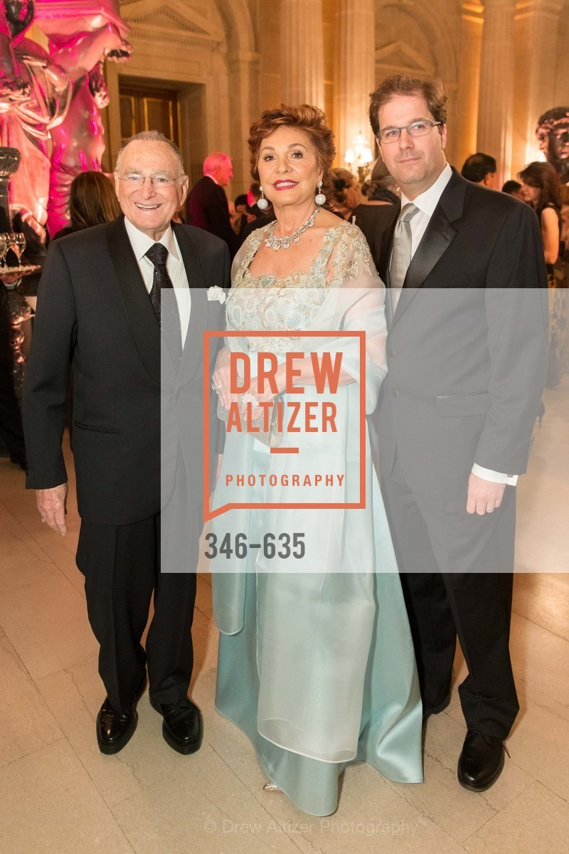 Jan Shrem, Maria Manetti Shrem, Matias Tarnopolsky, An Evening on the Stage Honoring Renaissance Man Gordon Getty, War Memorial Opera House. 301 Van Ness Ave, December 7th, 2015,Drew Altizer, Drew Altizer Photography, full-service agency, private events, San Francisco photographer, photographer california