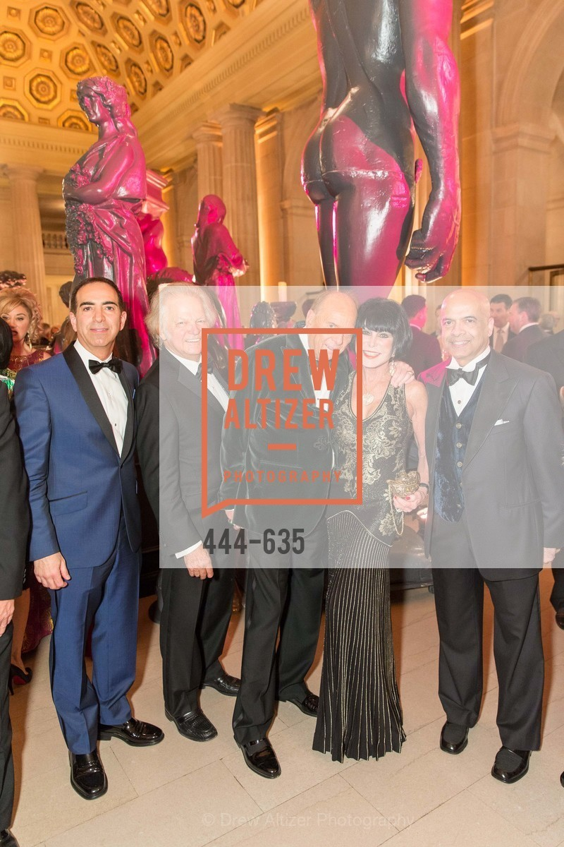 Elie Abi-Jaoude, Michael Cabak, David Pace, Marilyn Cabak, Raje Shindhia, An Evening on the Stage Honoring Renaissance Man Gordon Getty, War Memorial Opera House. 301 Van Ness Ave, December 7th, 2015,Drew Altizer, Drew Altizer Photography, full-service agency, private events, San Francisco photographer, photographer california