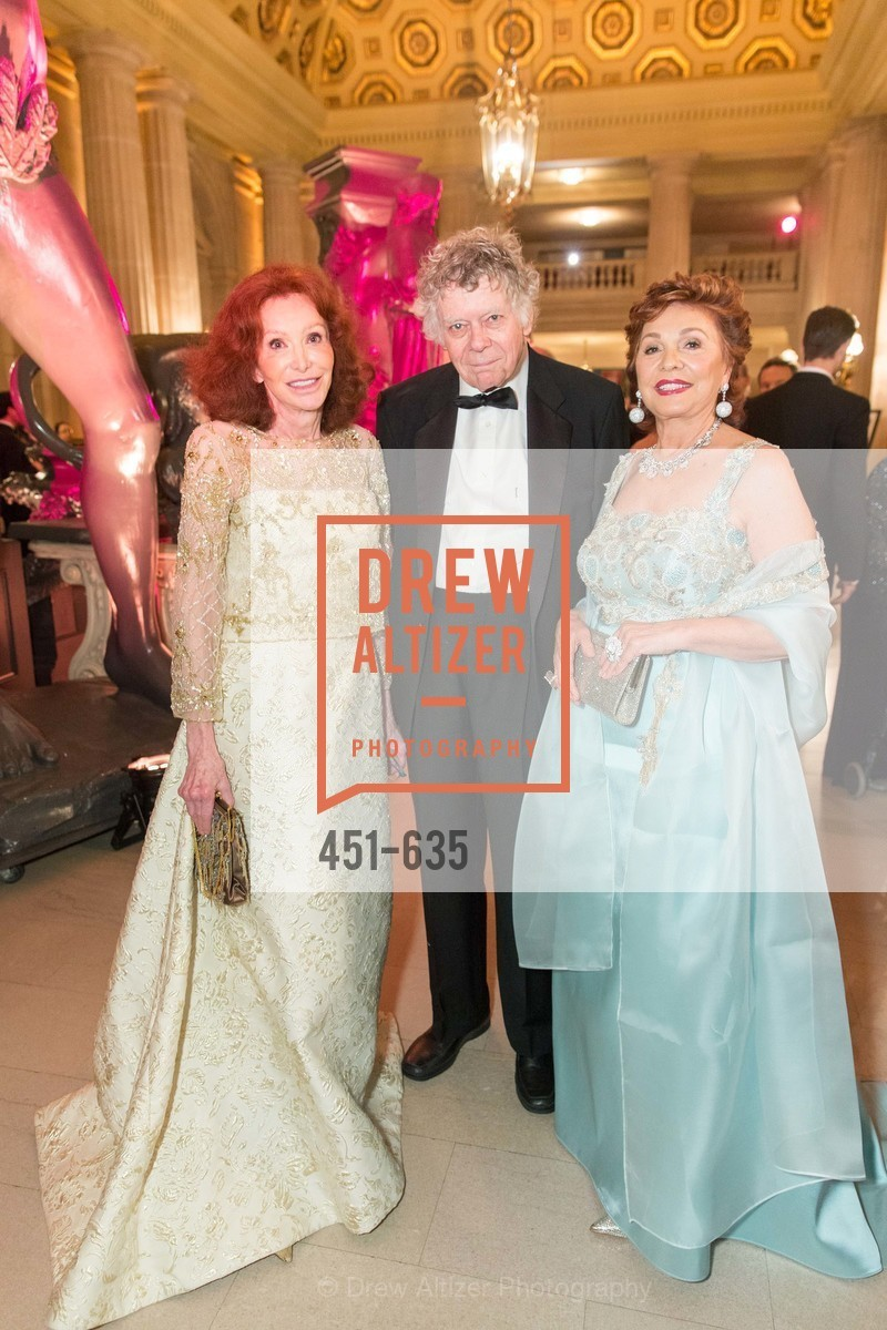 Ann Getty, Gordon Getty, Maria Manetti Shrem, An Evening on the Stage Honoring Renaissance Man Gordon Getty, War Memorial Opera House. 301 Van Ness Ave, December 7th, 2015