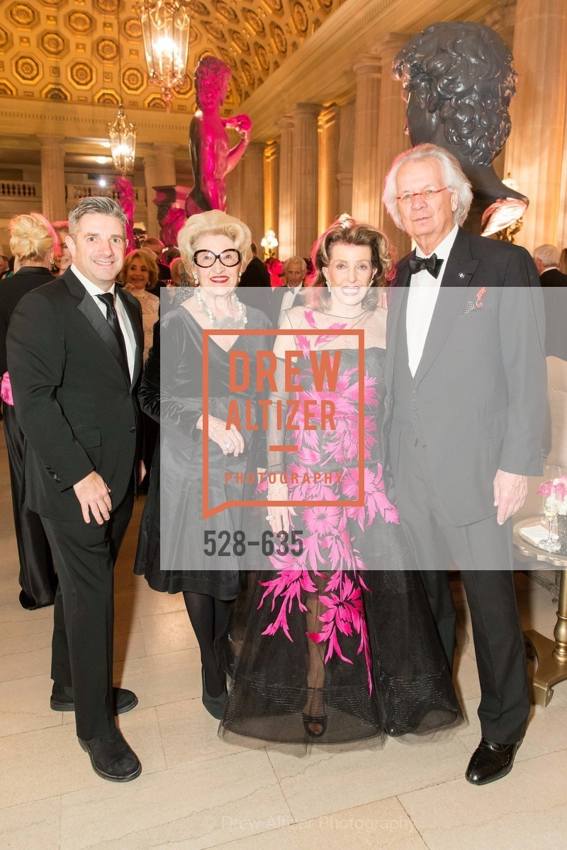 Stuart Canning, Janelle Relfe, Ellie Killebrew Brown, Theodore Brown, An Evening on the Stage Honoring Renaissance Man Gordon Getty, War Memorial Opera House. 301 Van Ness Ave, December 7th, 2015,Drew Altizer, Drew Altizer Photography, full-service agency, private events, San Francisco photographer, photographer california