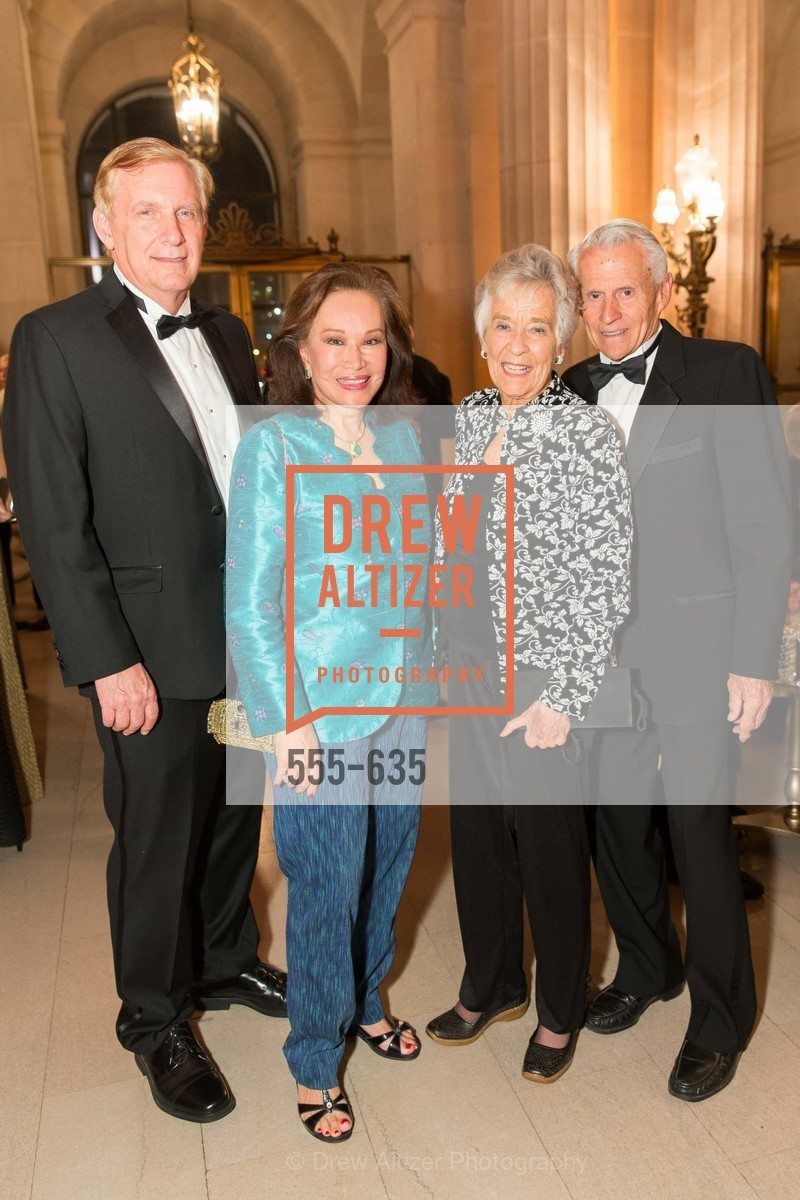 George Norton, Martha Hertelendy, Janet Pease, Norman Pease, An Evening on the Stage Honoring Renaissance Man Gordon Getty, War Memorial Opera House. 301 Van Ness Ave, December 7th, 2015,Drew Altizer, Drew Altizer Photography, full-service agency, private events, San Francisco photographer, photographer california