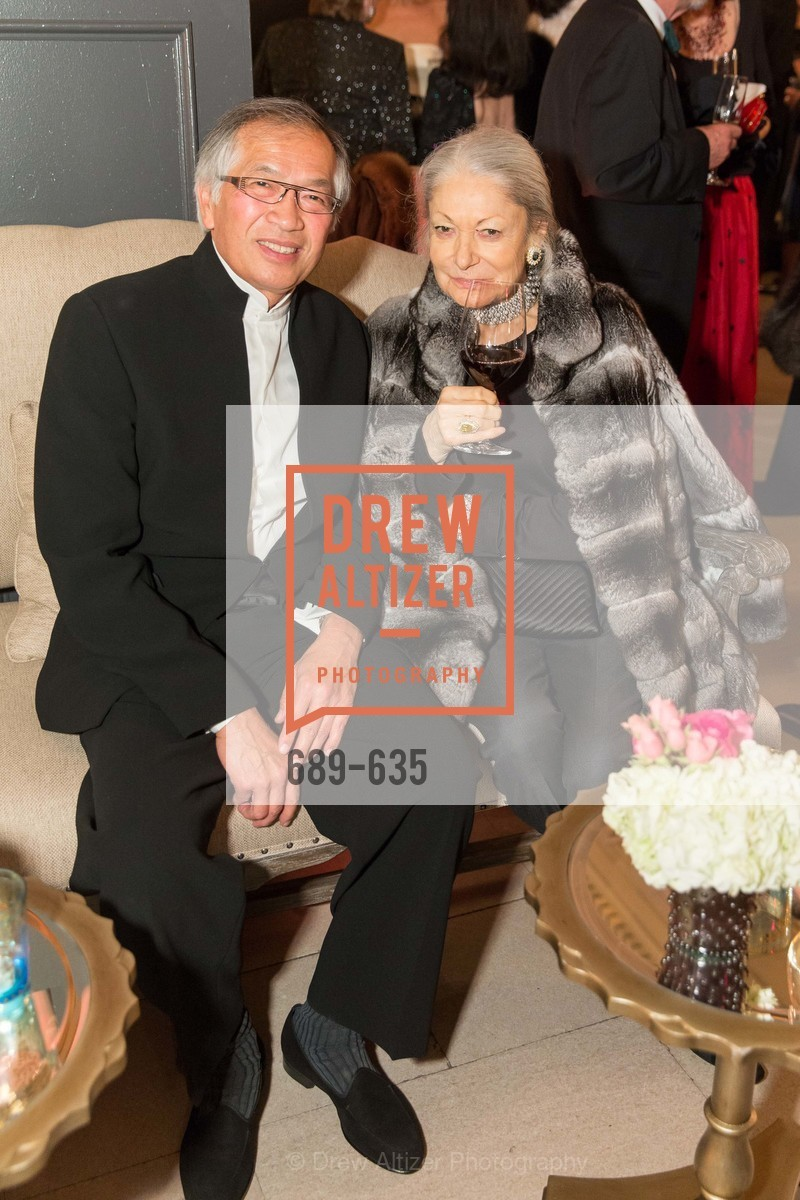 James Ho, Denise Hale, An Evening on the Stage Honoring Renaissance Man Gordon Getty, War Memorial Opera House. 301 Van Ness Ave, December 7th, 2015,Drew Altizer, Drew Altizer Photography, full-service agency, private events, San Francisco photographer, photographer california