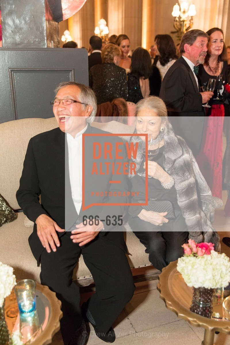 James Ho, Denise Hale, An Evening on the Stage Honoring Renaissance Man Gordon Getty, War Memorial Opera House. 301 Van Ness Ave, December 7th, 2015,Drew Altizer, Drew Altizer Photography, full-service event agency, private events, San Francisco photographer, photographer California