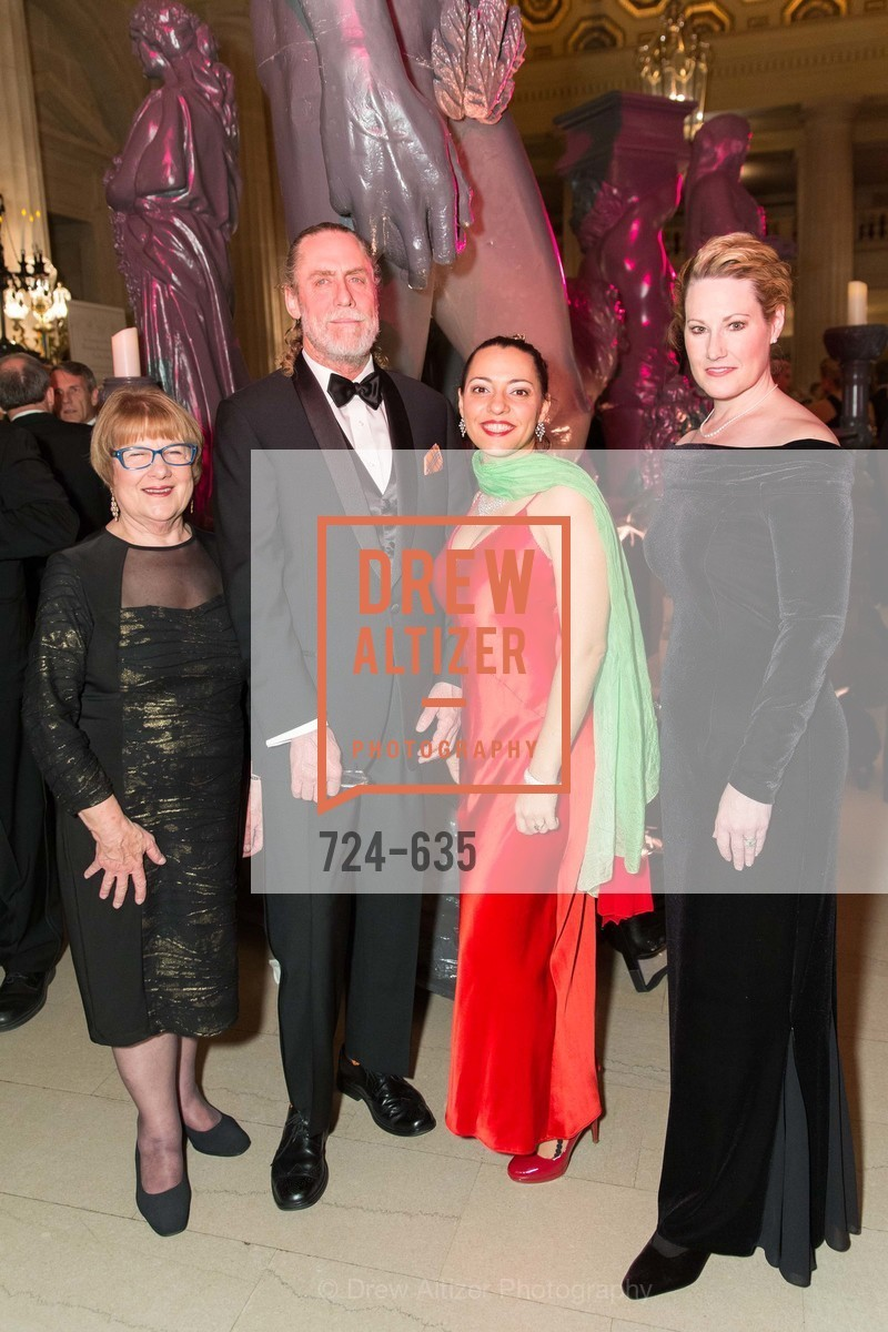 Jane Randolph, David Garner, Crystal Philippi, Nicole Foland, An Evening on the Stage Honoring Renaissance Man Gordon Getty, War Memorial Opera House. 301 Van Ness Ave, December 7th, 2015,Drew Altizer, Drew Altizer Photography, full-service agency, private events, San Francisco photographer, photographer california