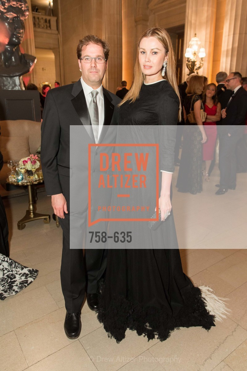 Matias Tarnopolsky, Tatiana Sorokko, An Evening on the Stage Honoring Renaissance Man Gordon Getty, War Memorial Opera House. 301 Van Ness Ave, December 7th, 2015,Drew Altizer, Drew Altizer Photography, full-service agency, private events, San Francisco photographer, photographer california