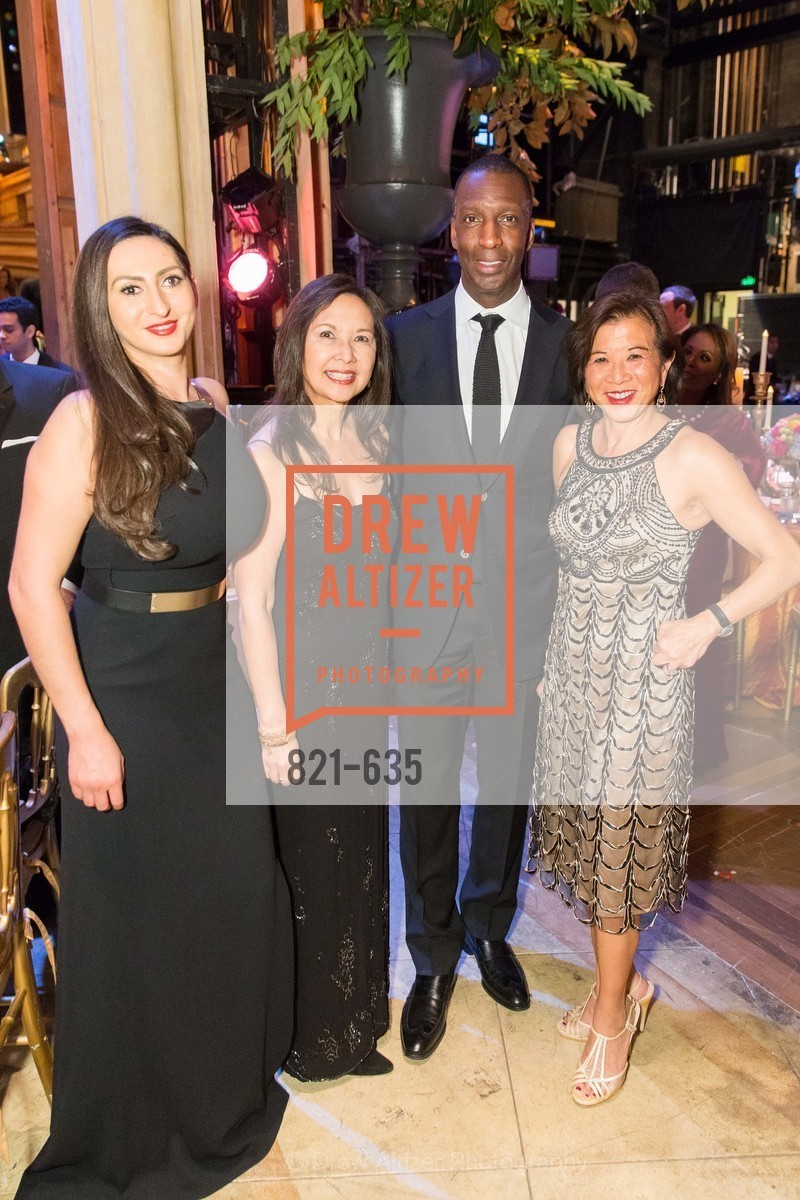 Armine Shamiryan, Donna Fujii, Michael Johnson, Melinda Yee Franklin, An Evening on the Stage Honoring Renaissance Man Gordon Getty, War Memorial Opera House. 301 Van Ness Ave, December 7th, 2015,Drew Altizer, Drew Altizer Photography, full-service agency, private events, San Francisco photographer, photographer california