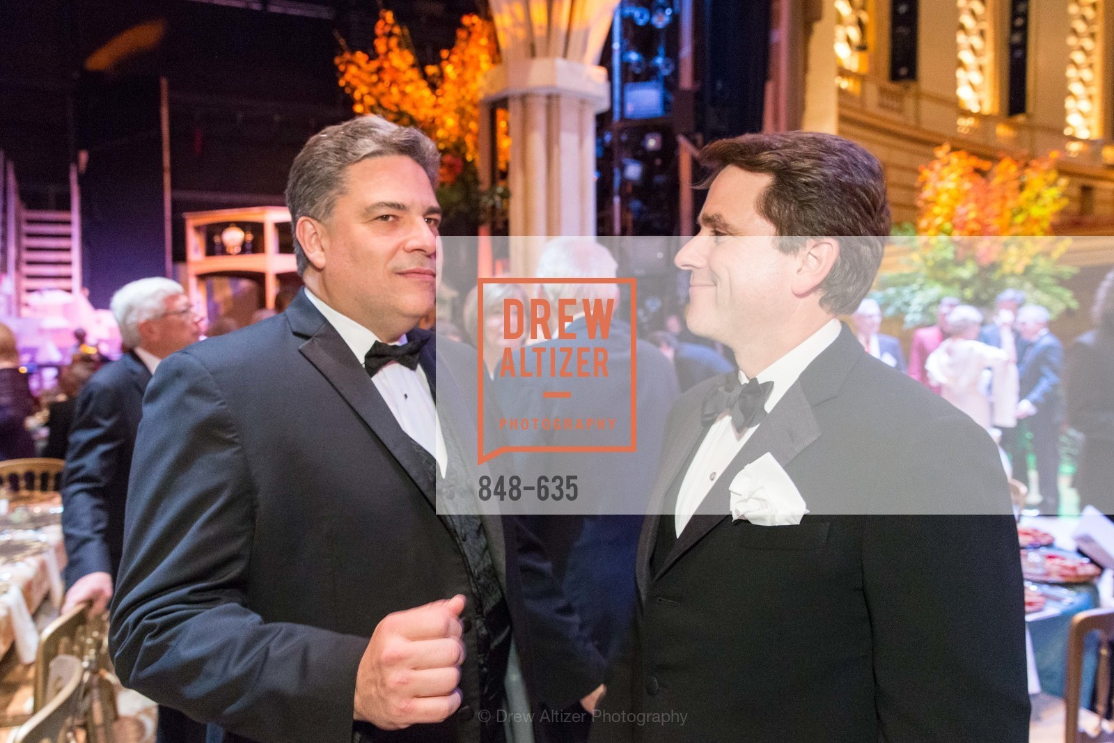 David Stull, Gregory Malin, An Evening on the Stage Honoring Renaissance Man Gordon Getty, War Memorial Opera House. 301 Van Ness Ave, December 7th, 2015