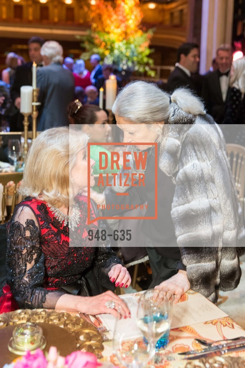 Dede Wilsey, Denise Hale, An Evening on the Stage Honoring Renaissance Man Gordon Getty, War Memorial Opera House. 301 Van Ness Ave, December 7th, 2015,Drew Altizer, Drew Altizer Photography, full-service agency, private events, San Francisco photographer, photographer california