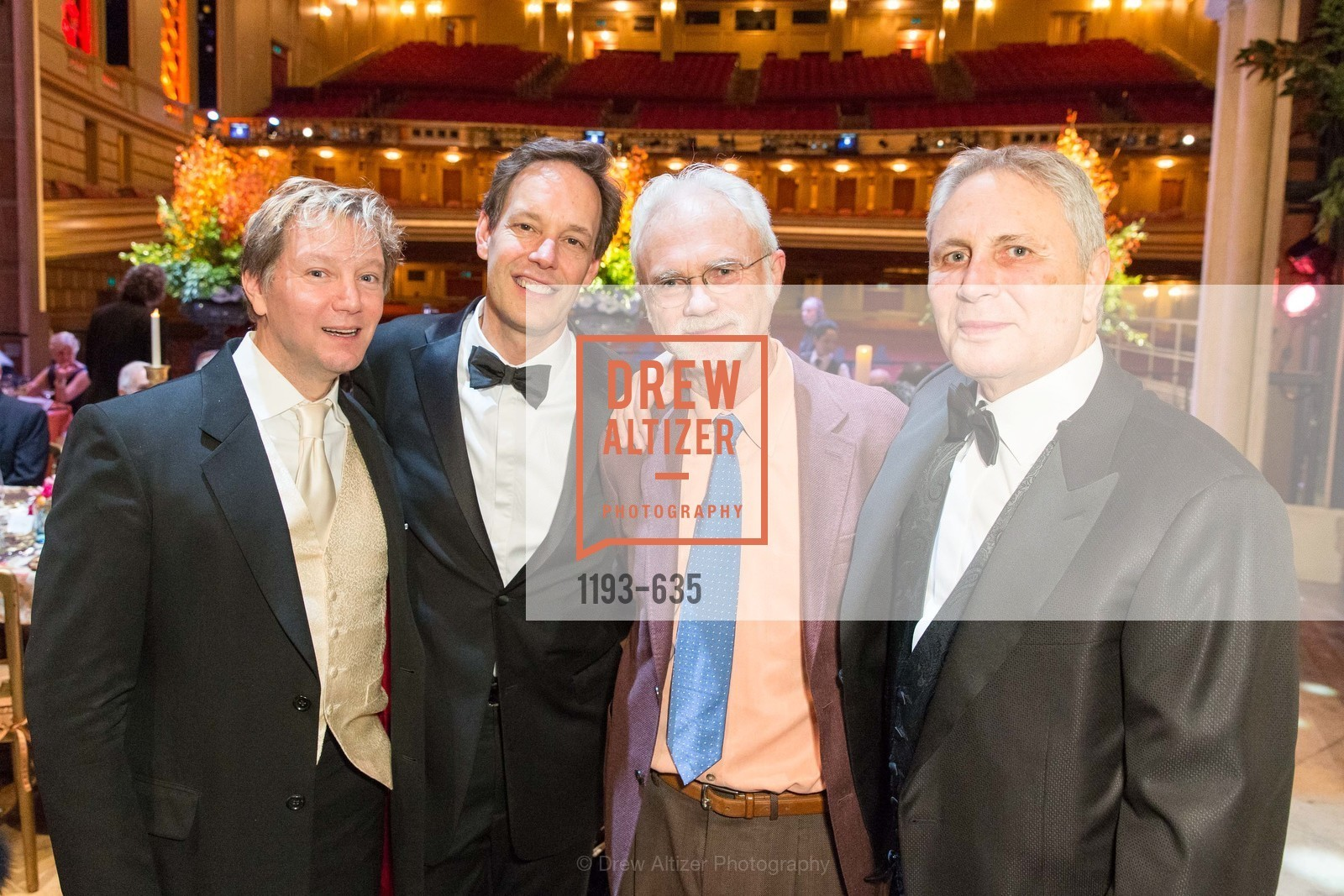 Mark Adamo, Jake Heggie, John Adams, John Corigliano, An Evening on the Stage Honoring Renaissance Man Gordon Getty, War Memorial Opera House. 301 Van Ness Ave, December 7th, 2015,Drew Altizer, Drew Altizer Photography, full-service event agency, private events, San Francisco photographer, photographer California