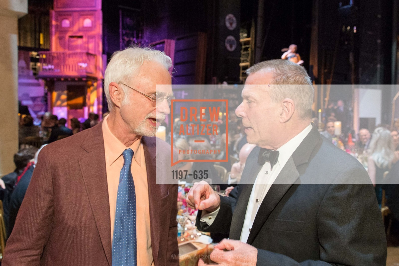 John Adams, David Gockley, An Evening on the Stage Honoring Renaissance Man Gordon Getty, War Memorial Opera House. 301 Van Ness Ave, December 7th, 2015,Drew Altizer, Drew Altizer Photography, full-service agency, private events, San Francisco photographer, photographer california