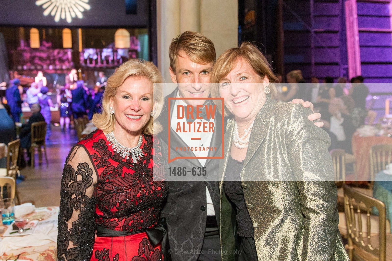 Dede Wilsey, Jack Calhoun, Frederica von Stade, An Evening on the Stage Honoring Renaissance Man Gordon Getty, War Memorial Opera House. 301 Van Ness Ave, December 7th, 2015,Drew Altizer, Drew Altizer Photography, full-service agency, private events, San Francisco photographer, photographer california