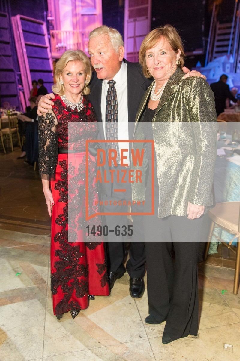Dede Wisley, Mike Gorman, Frederica von Stade, An Evening on the Stage Honoring Renaissance Man Gordon Getty, War Memorial Opera House. 301 Van Ness Ave, December 7th, 2015,Drew Altizer, Drew Altizer Photography, full-service agency, private events, San Francisco photographer, photographer california