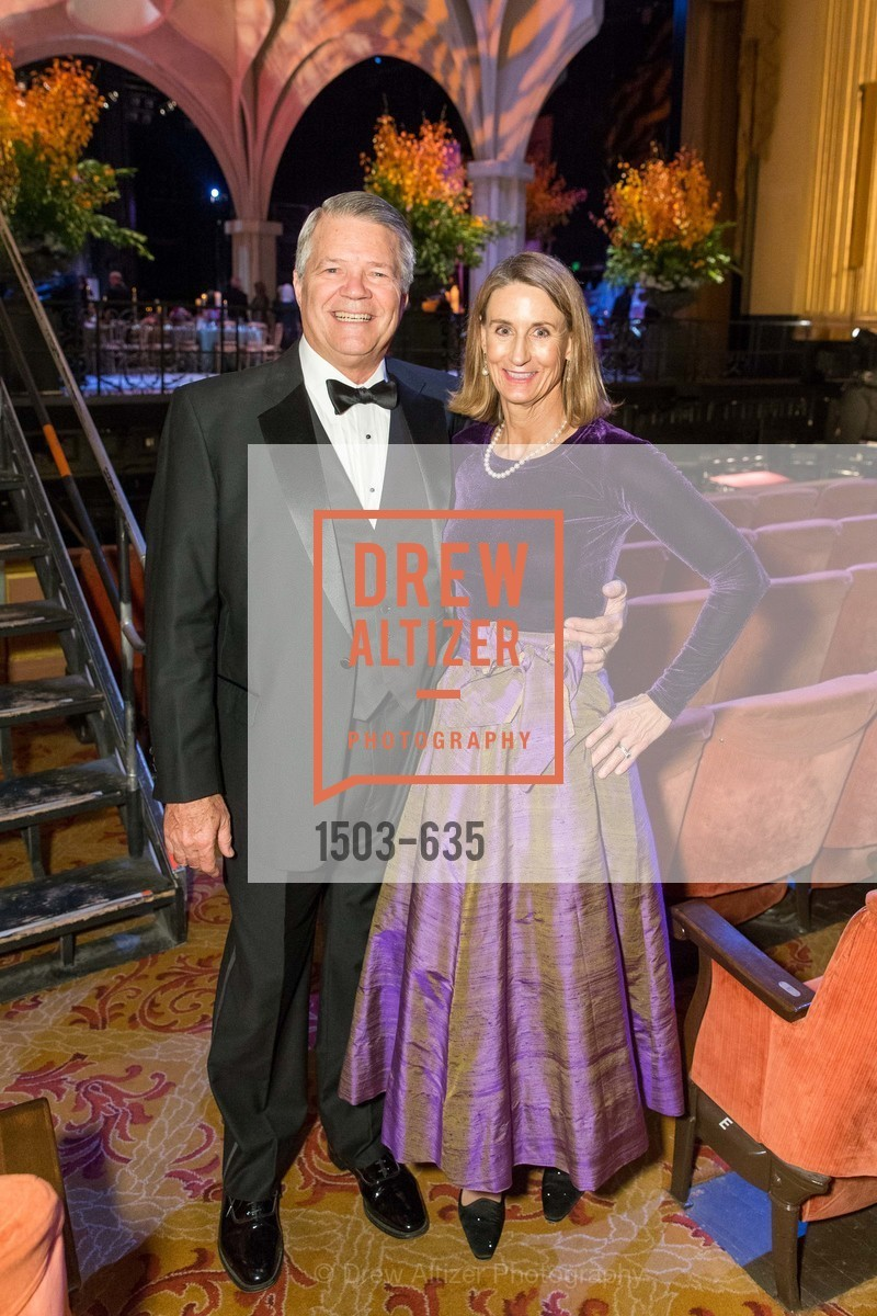 Dick Livermore, Cynthia Livermore, An Evening on the Stage Honoring Renaissance Man Gordon Getty, War Memorial Opera House. 301 Van Ness Ave, December 7th, 2015,Drew Altizer, Drew Altizer Photography, full-service agency, private events, San Francisco photographer, photographer california