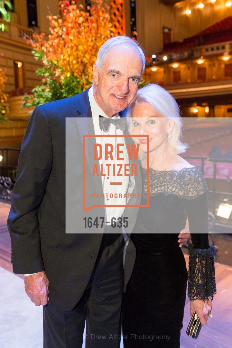Mike Milstein, Sandra Farris, An Evening on the Stage Honoring Renaissance Man Gordon Getty, War Memorial Opera House. 301 Van Ness Ave, December 7th, 2015,Drew Altizer, Drew Altizer Photography, full-service agency, private events, San Francisco photographer, photographer california