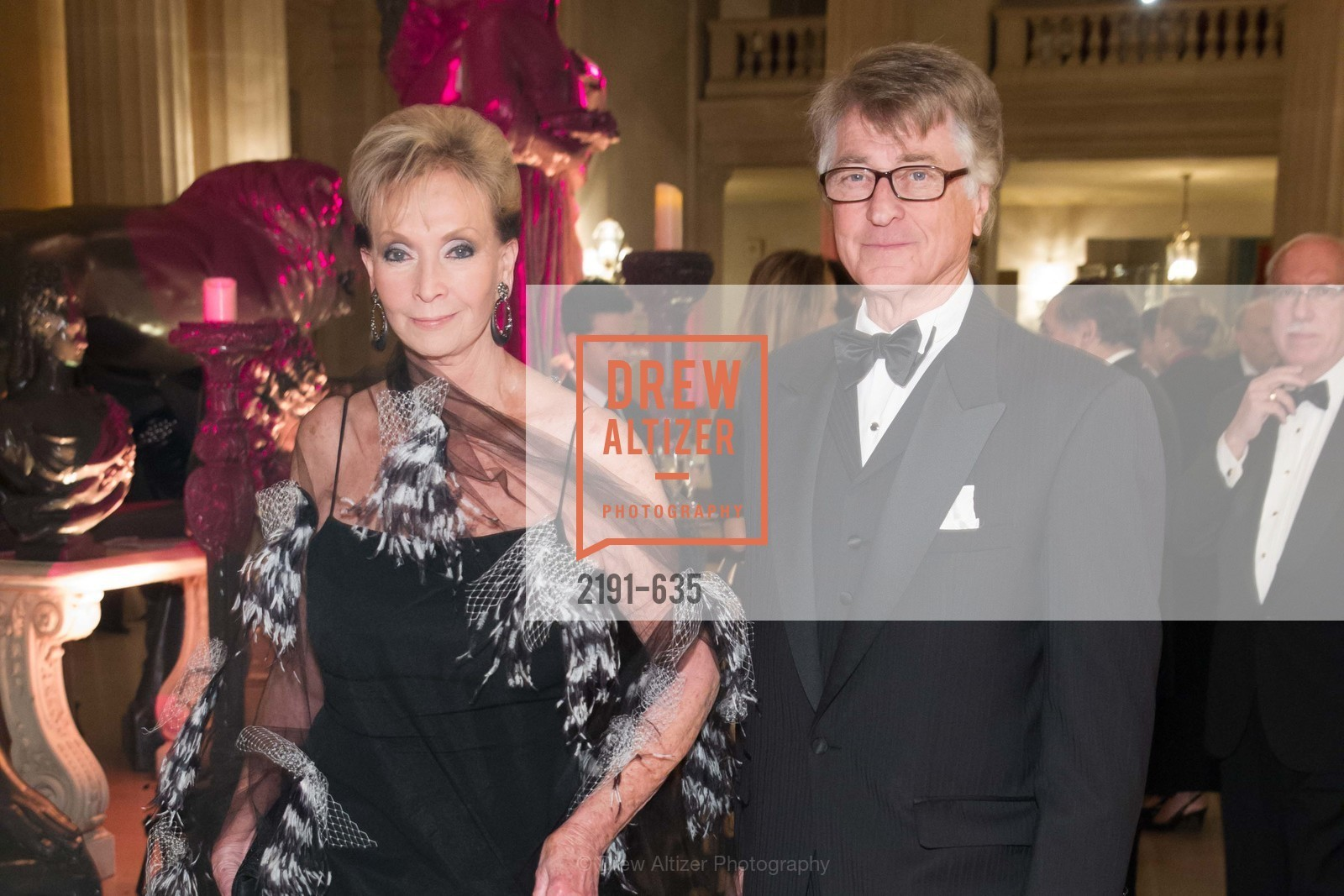 Sallie Huntting, Leon Huntting, An Evening on the Stage Honoring Renaissance Man Gordon Getty, War Memorial Opera House. 301 Van Ness Ave, December 7th, 2015,Drew Altizer, Drew Altizer Photography, full-service agency, private events, San Francisco photographer, photographer california
