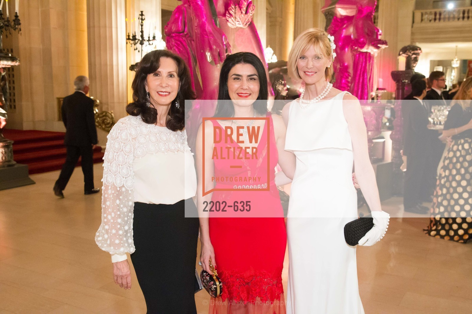 Carolyn Chandler, Afsaneh Akhtari, Karen Richardson, An Evening on the Stage Honoring Renaissance Man Gordon Getty, War Memorial Opera House. 301 Van Ness Ave, December 7th, 2015,Drew Altizer, Drew Altizer Photography, full-service event agency, private events, San Francisco photographer, photographer California