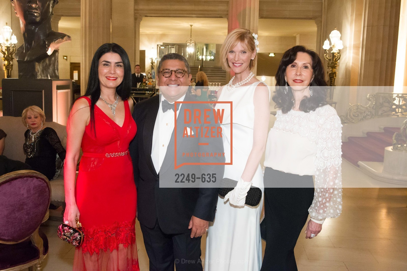 Afsaneh Akhtari, Riccardo Benavides, Karen Richardson, Carolyn Chandler, An Evening on the Stage Honoring Renaissance Man Gordon Getty, War Memorial Opera House. 301 Van Ness Ave, December 7th, 2015,Drew Altizer, Drew Altizer Photography, full-service agency, private events, San Francisco photographer, photographer california
