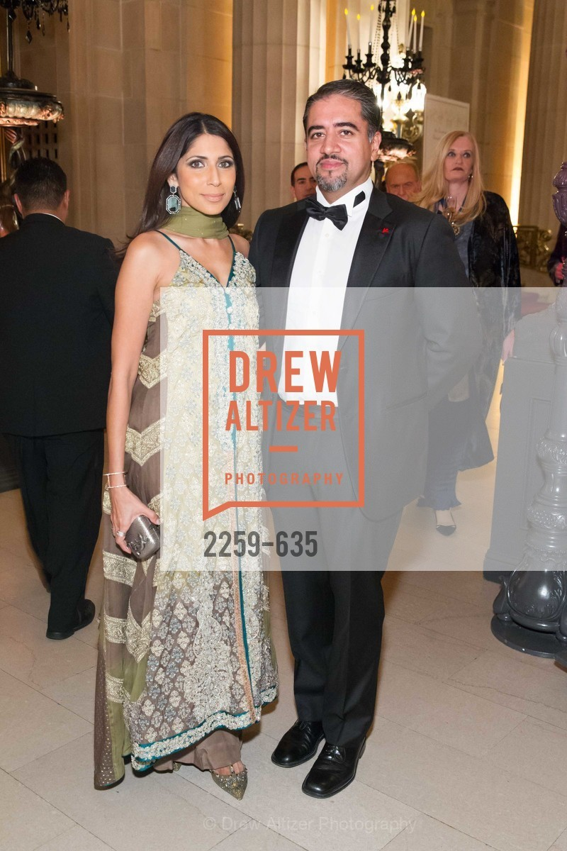 Sobia Shaikh, Nadir Shaikh, An Evening on the Stage Honoring Renaissance Man Gordon Getty, War Memorial Opera House. 301 Van Ness Ave, December 7th, 2015,Drew Altizer, Drew Altizer Photography, full-service agency, private events, San Francisco photographer, photographer california