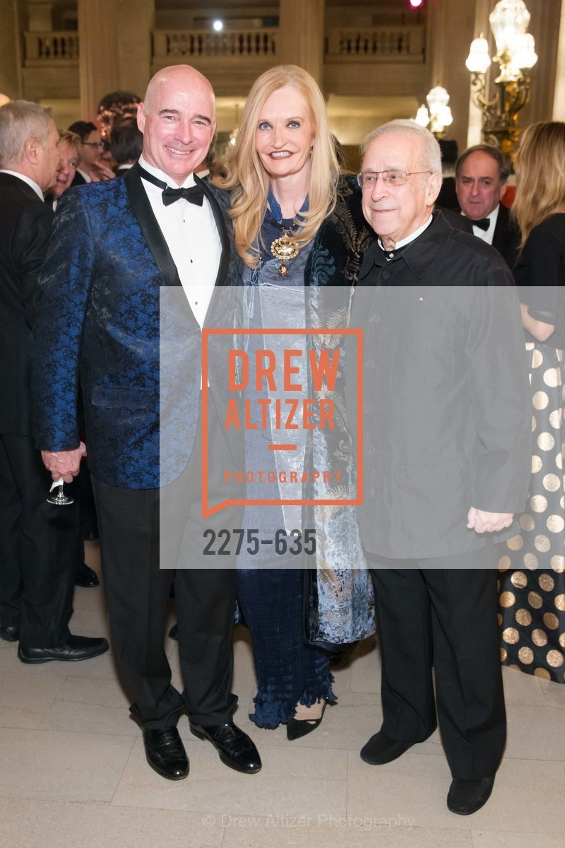 Christopher Freye, Beth Townsend, Lawrence Foster, An Evening on the Stage Honoring Renaissance Man Gordon Getty, War Memorial Opera House. 301 Van Ness Ave, December 7th, 2015,Drew Altizer, Drew Altizer Photography, full-service agency, private events, San Francisco photographer, photographer california