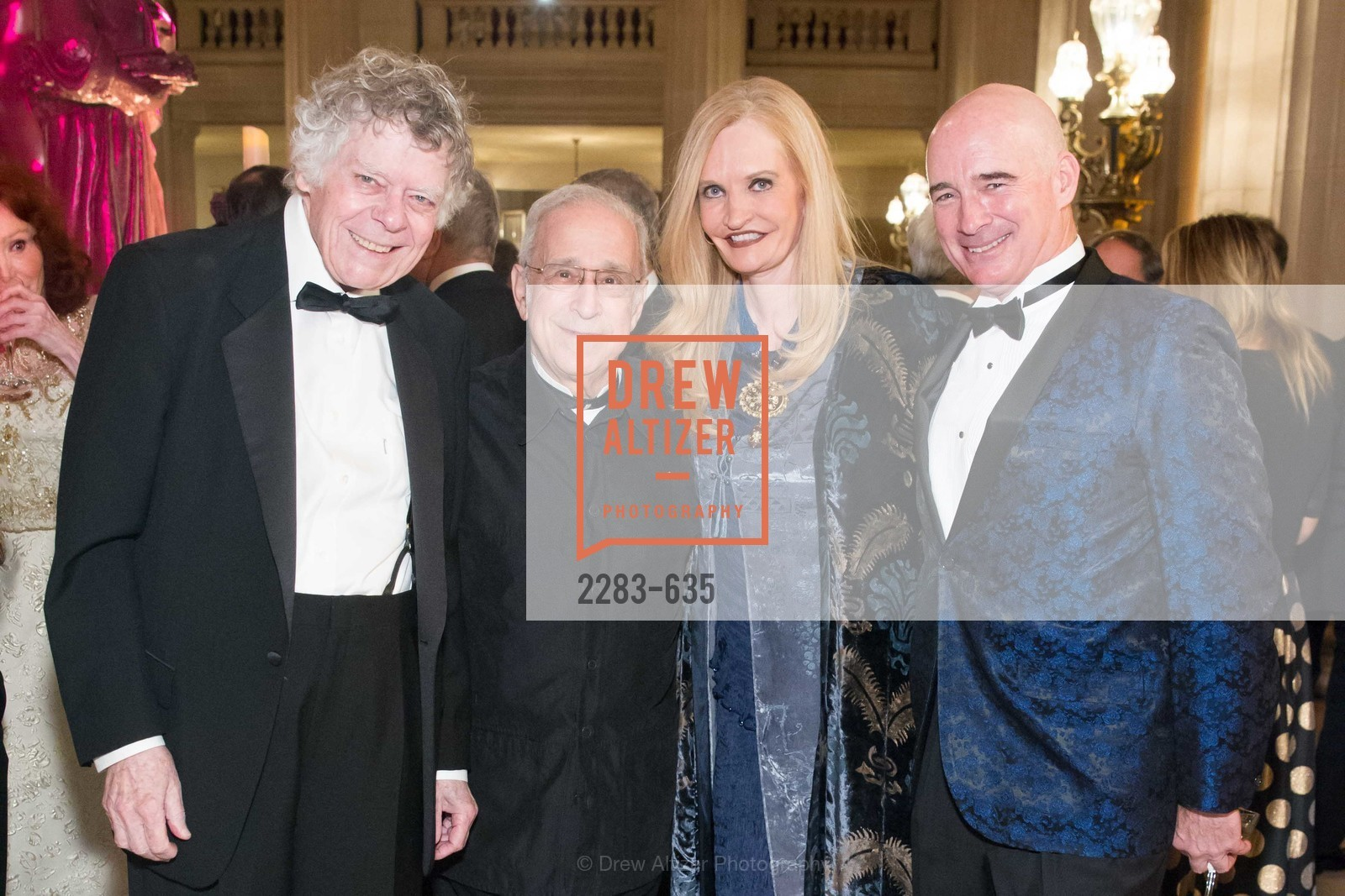 Gordon Getty, Lawrence Foster, Beth Townsend, Christopher Freye, An Evening on the Stage Honoring Renaissance Man Gordon Getty, War Memorial Opera House. 301 Van Ness Ave, December 7th, 2015,Drew Altizer, Drew Altizer Photography, full-service agency, private events, San Francisco photographer, photographer california