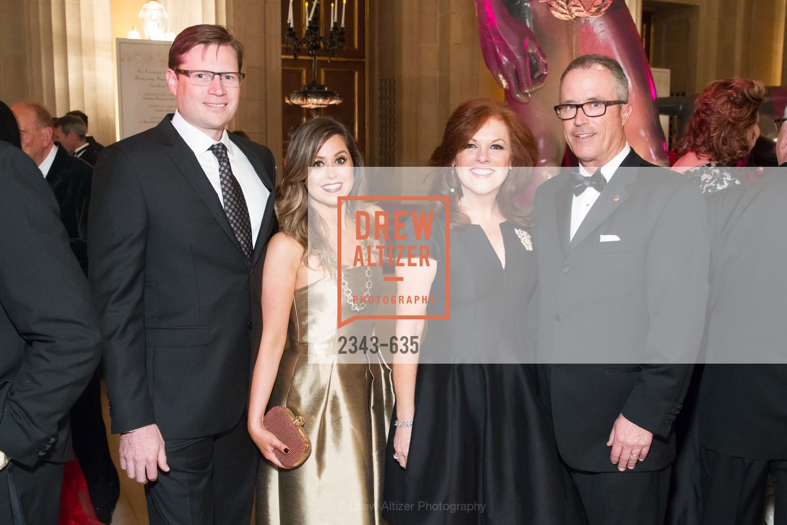 Jonathan Nichols, Shannon Blunden, Teresa Spirz, Carl Spirz, An Evening on the Stage Honoring Renaissance Man Gordon Getty, War Memorial Opera House. 301 Van Ness Ave, December 7th, 2015,Drew Altizer, Drew Altizer Photography, full-service agency, private events, San Francisco photographer, photographer california
