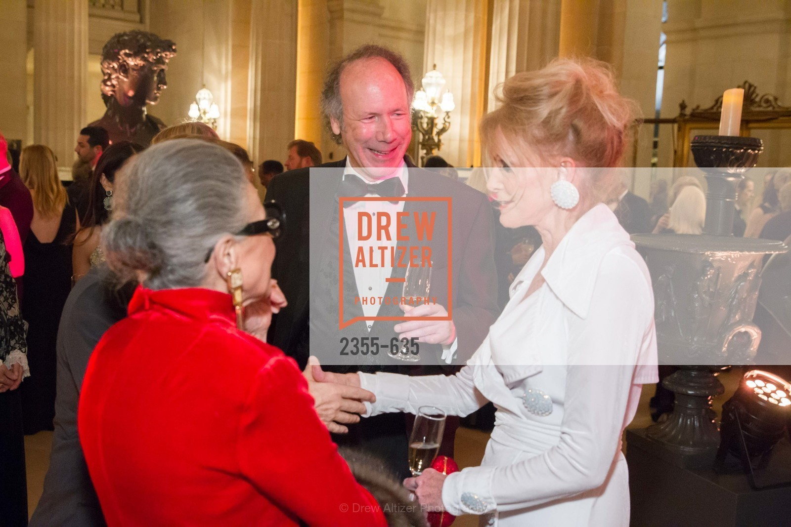 Tom Barrett, Belinda Berry, An Evening on the Stage Honoring Renaissance Man Gordon Getty, War Memorial Opera House. 301 Van Ness Ave, December 7th, 2015,Drew Altizer, Drew Altizer Photography, full-service event agency, private events, San Francisco photographer, photographer California