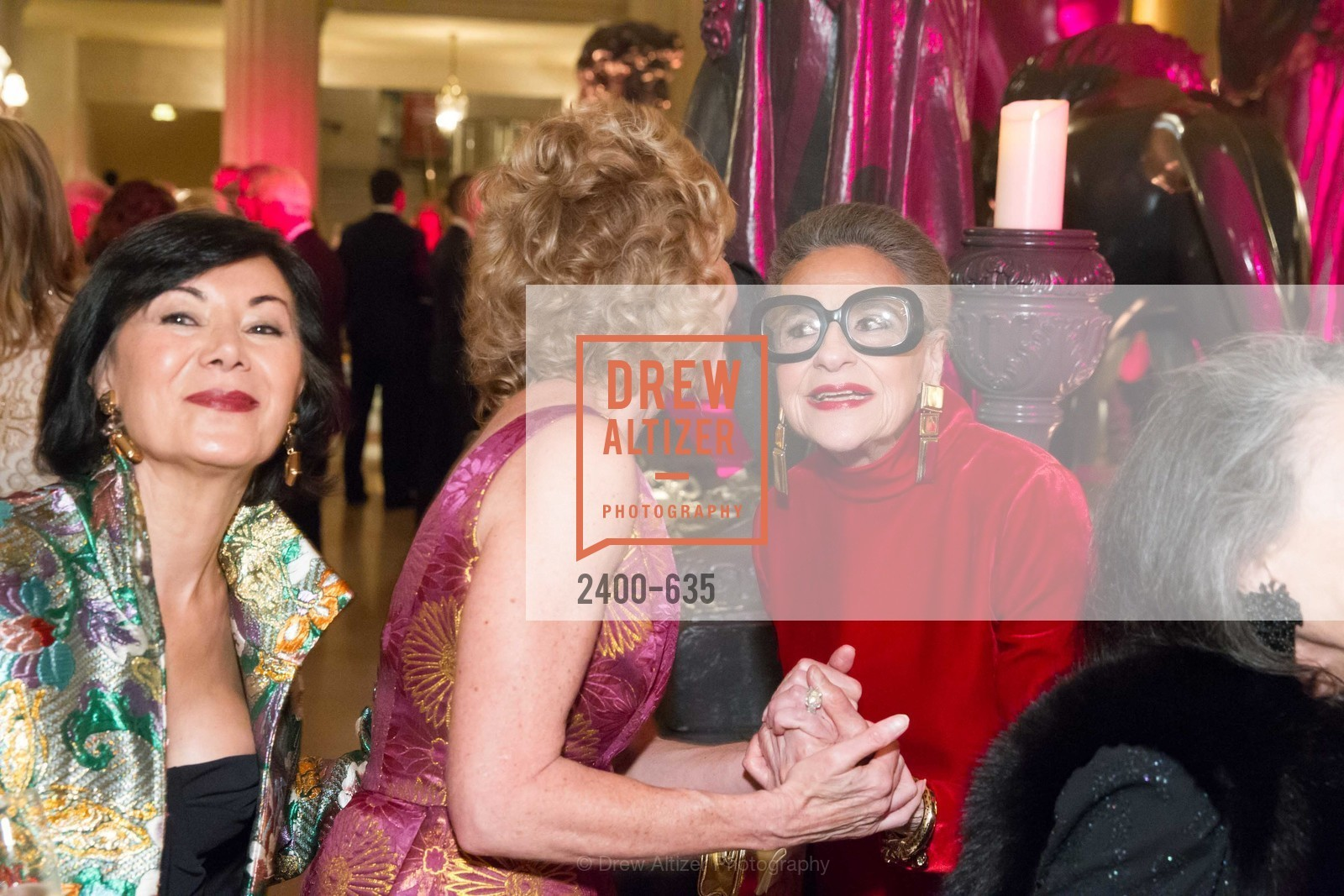 Nafiseh Lindberg, Joy Venturini Bianchi, An Evening on the Stage Honoring Renaissance Man Gordon Getty, War Memorial Opera House. 301 Van Ness Ave, December 7th, 2015,Drew Altizer, Drew Altizer Photography, full-service event agency, private events, San Francisco photographer, photographer California