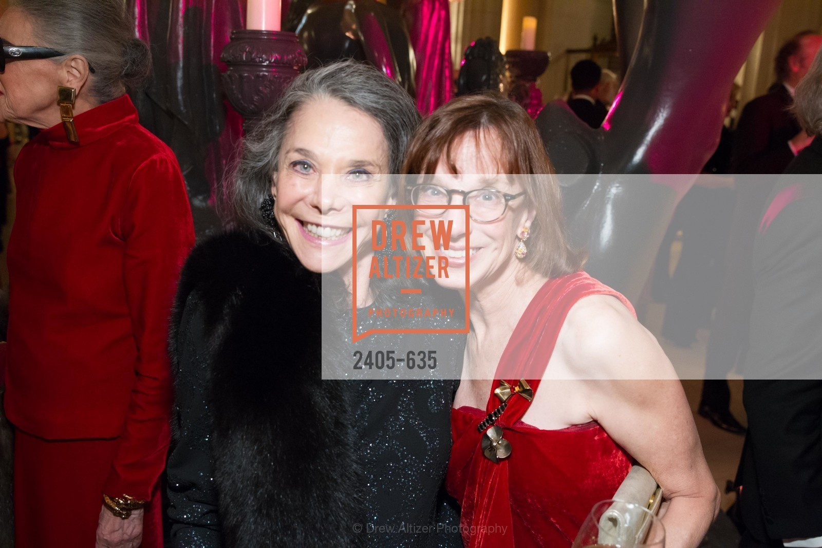 Julie Coplon, Diana Kissil, An Evening on the Stage Honoring Renaissance Man Gordon Getty, War Memorial Opera House. 301 Van Ness Ave, December 7th, 2015,Drew Altizer, Drew Altizer Photography, full-service agency, private events, San Francisco photographer, photographer california