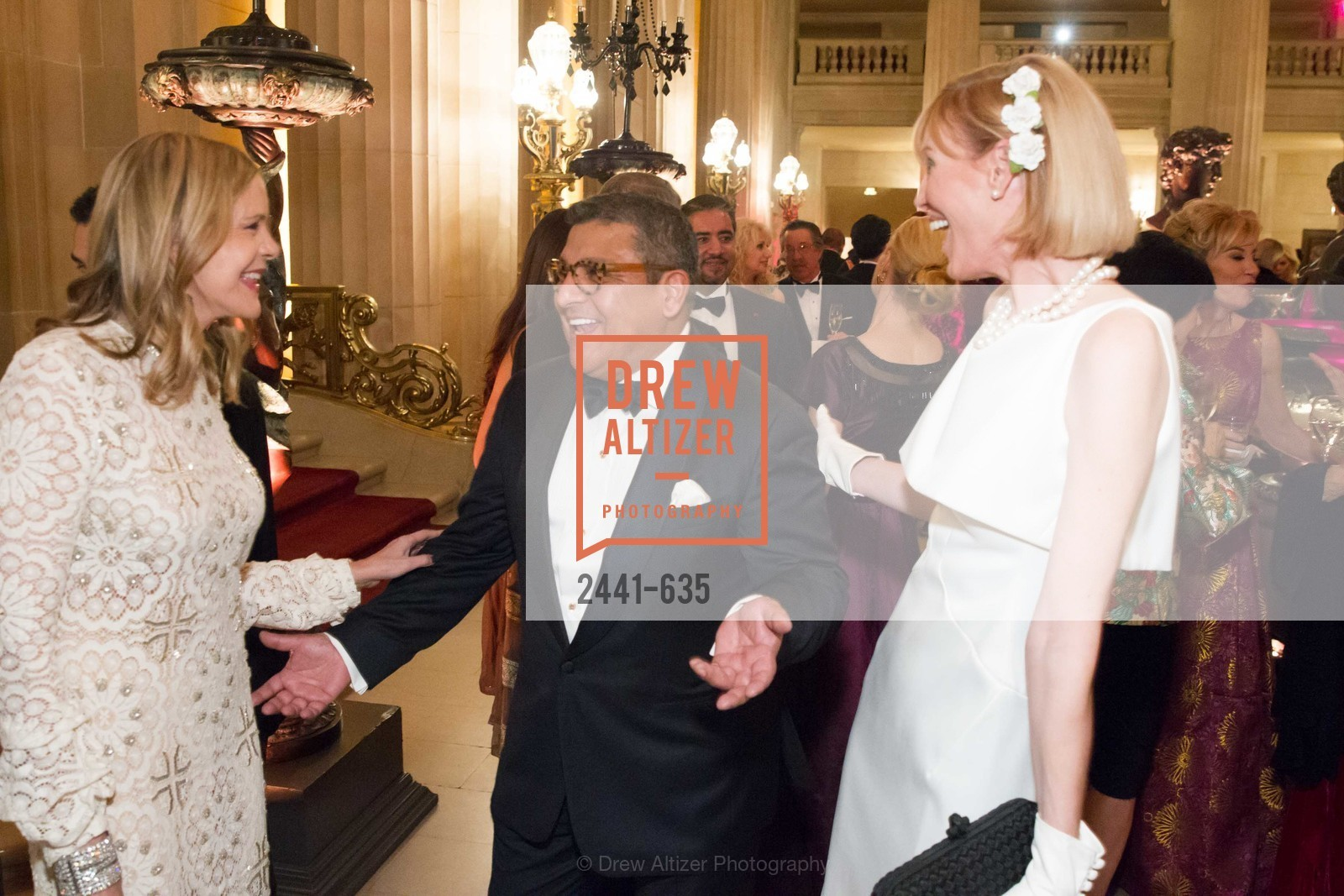 Mary Beth Shimmon, Riccardo Benavides, Karen Richardson, An Evening on the Stage Honoring Renaissance Man Gordon Getty, War Memorial Opera House. 301 Van Ness Ave, December 7th, 2015,Drew Altizer, Drew Altizer Photography, full-service agency, private events, San Francisco photographer, photographer california