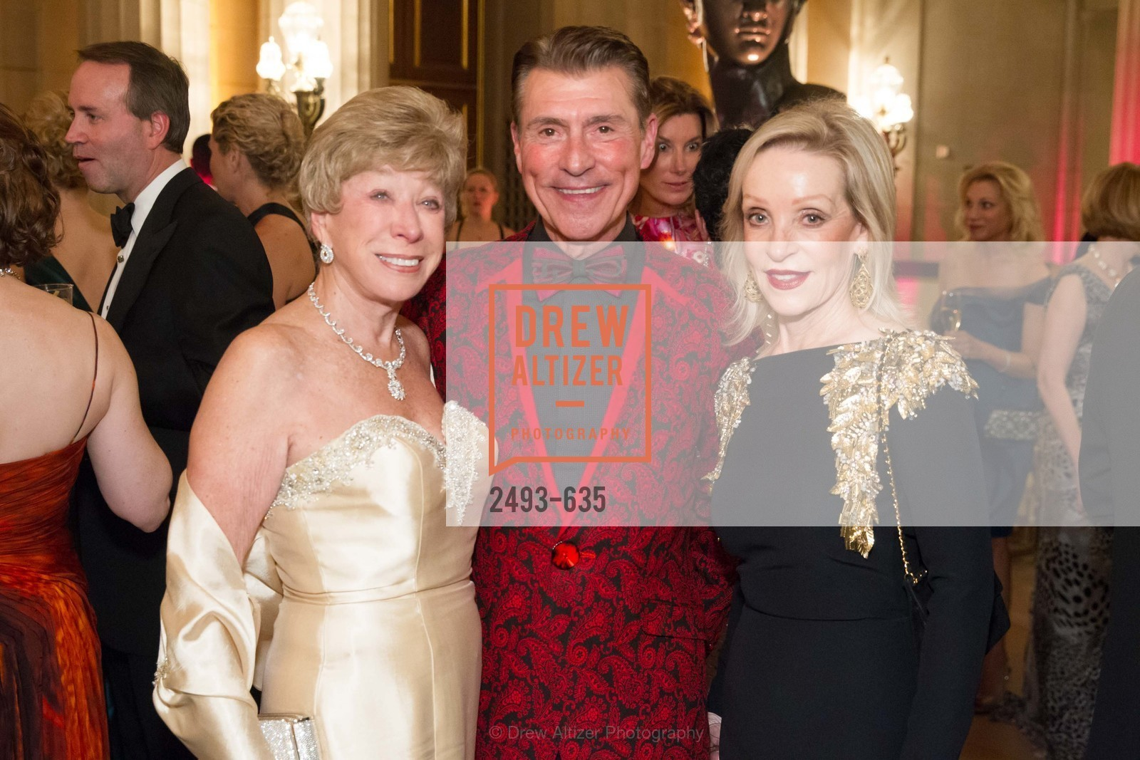 Maria Pitcairn, Robert Beadle, Barbara Brown, An Evening on the Stage Honoring Renaissance Man Gordon Getty, War Memorial Opera House. 301 Van Ness Ave, December 7th, 2015,Drew Altizer, Drew Altizer Photography, full-service event agency, private events, San Francisco photographer, photographer California