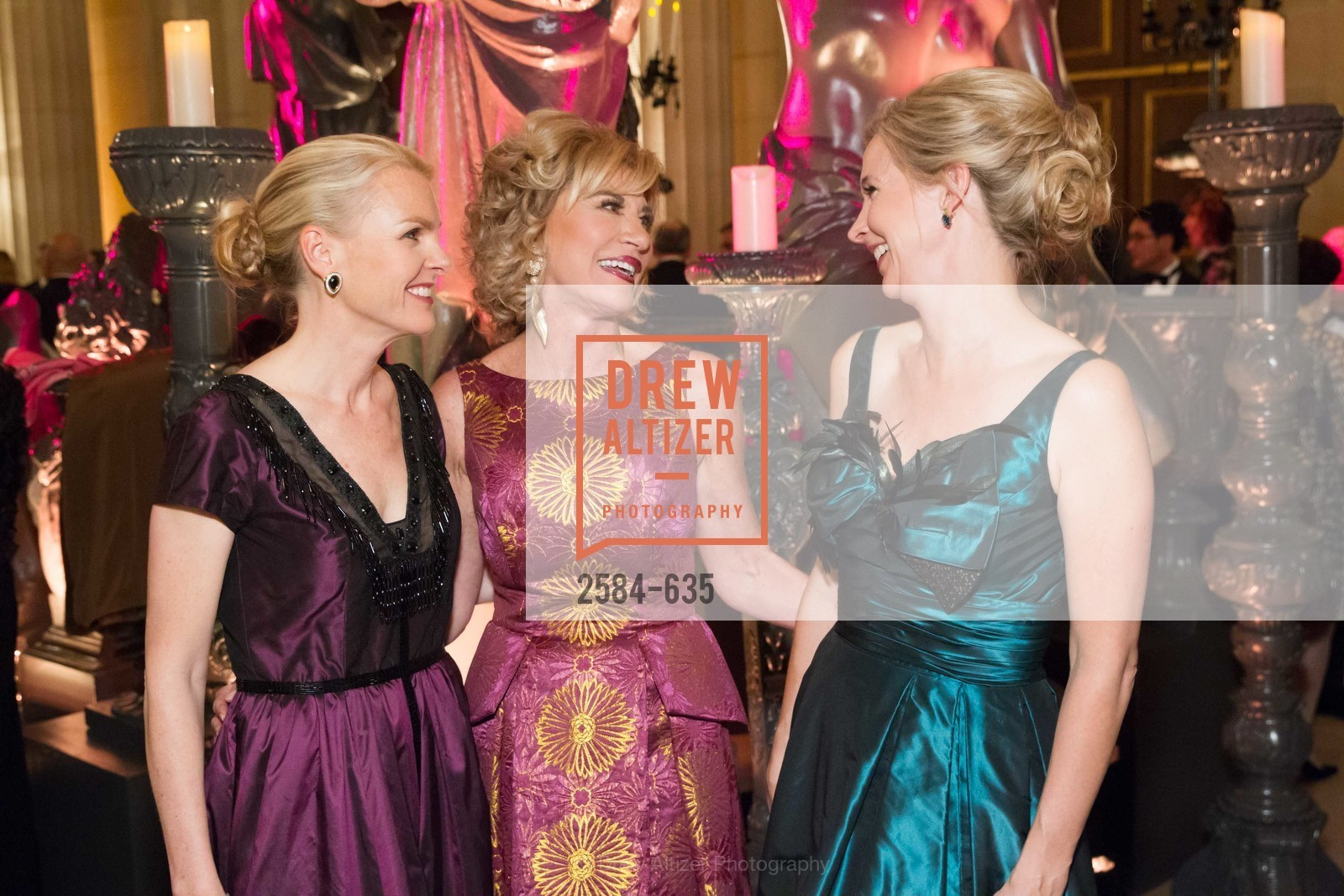 Linle Froeb, Mary Poland, Courtney Labe, An Evening on the Stage Honoring Renaissance Man Gordon Getty, War Memorial Opera House. 301 Van Ness Ave, December 7th, 2015,Drew Altizer, Drew Altizer Photography, full-service event agency, private events, San Francisco photographer, photographer California