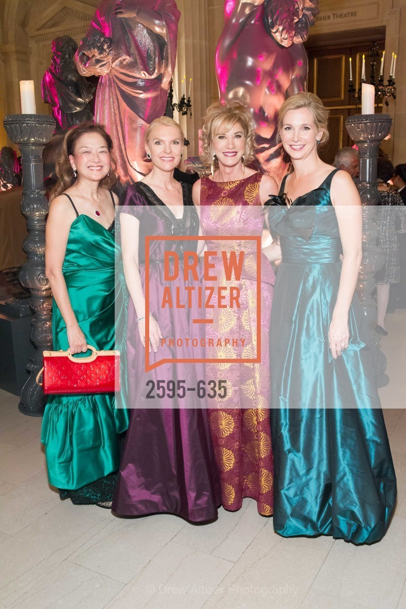 Olivia Decker, Linle Froeb, Mary Poland, Courtney Labe, An Evening on the Stage Honoring Renaissance Man Gordon Getty, War Memorial Opera House. 301 Van Ness Ave, December 7th, 2015,Drew Altizer, Drew Altizer Photography, full-service agency, private events, San Francisco photographer, photographer california