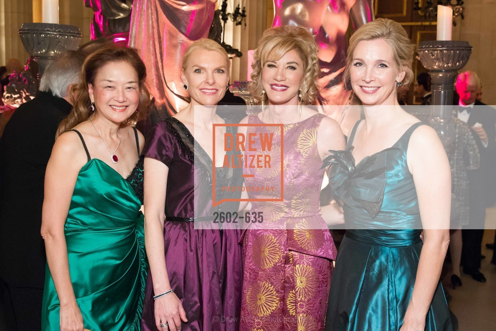 Olivia Decker, Linle Froeb, Mary Poland, Courtney Labe, An Evening on the Stage Honoring Renaissance Man Gordon Getty, War Memorial Opera House. 301 Van Ness Ave, December 7th, 2015,Drew Altizer, Drew Altizer Photography, full-service event agency, private events, San Francisco photographer, photographer California