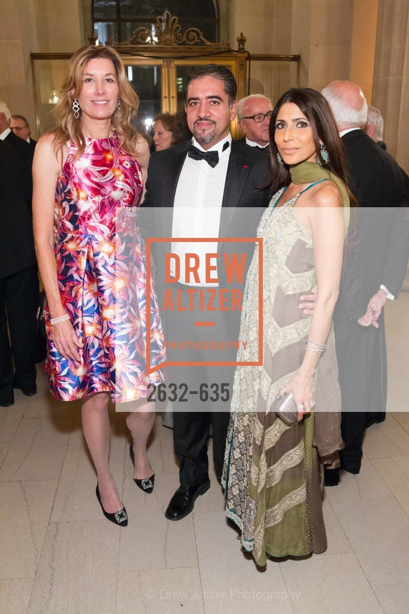 Susan Dunlevy, Nadir Shaikh, Sobia Shaikh, An Evening on the Stage Honoring Renaissance Man Gordon Getty, War Memorial Opera House. 301 Van Ness Ave, December 7th, 2015,Drew Altizer, Drew Altizer Photography, full-service agency, private events, San Francisco photographer, photographer california
