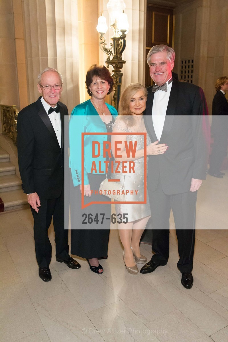 Alan Kizor, Juanita Kizor, Lynn Edminster, Brian Atwood, An Evening on the Stage Honoring Renaissance Man Gordon Getty, War Memorial Opera House. 301 Van Ness Ave, December 7th, 2015,Drew Altizer, Drew Altizer Photography, full-service agency, private events, San Francisco photographer, photographer california