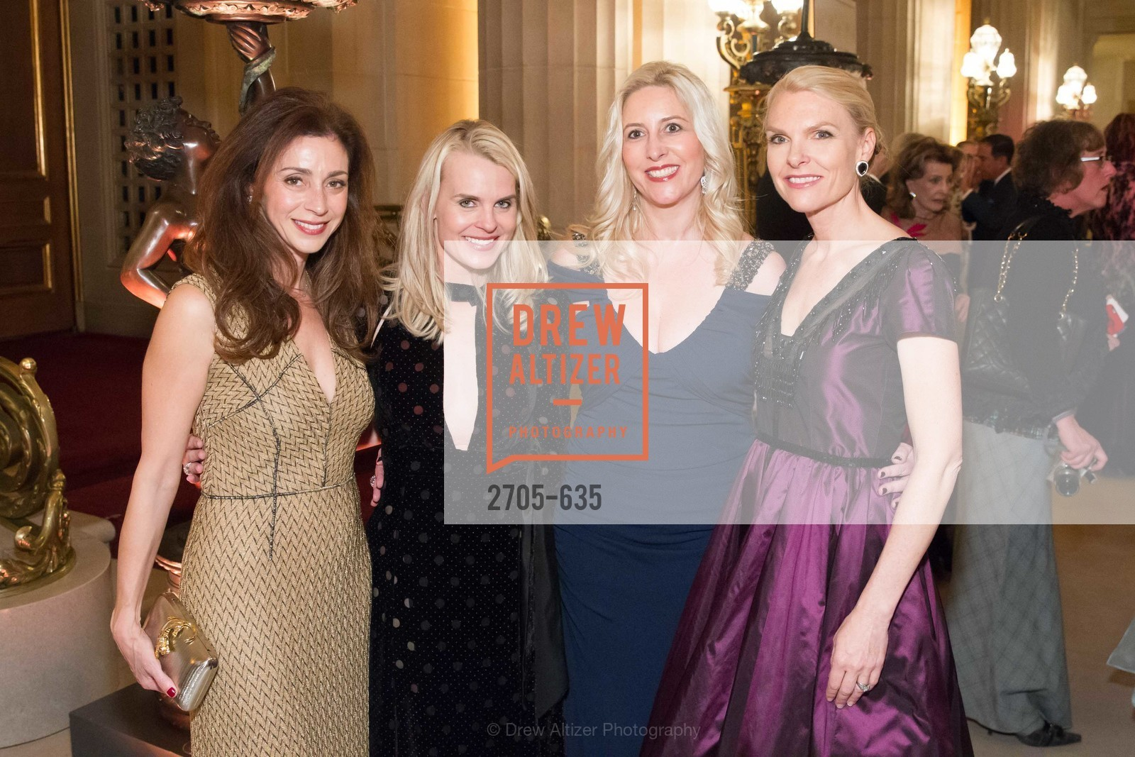 Maryam Modroglu, Jane Mudge, Ginny Ziegler, Linle Froeb, An Evening on the Stage Honoring Renaissance Man Gordon Getty, War Memorial Opera House. 301 Van Ness Ave, December 7th, 2015,Drew Altizer, Drew Altizer Photography, full-service agency, private events, San Francisco photographer, photographer california