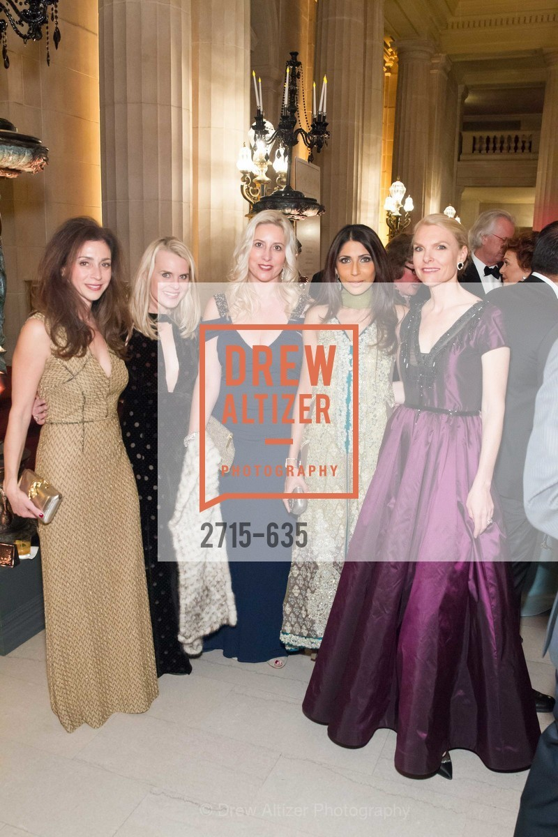 Maryam Modroglu, Jane Mudge, Ginny Ziegler, Sobia Shaikh, Linle Froeb, An Evening on the Stage Honoring Renaissance Man Gordon Getty, War Memorial Opera House. 301 Van Ness Ave, December 7th, 2015,Drew Altizer, Drew Altizer Photography, full-service agency, private events, San Francisco photographer, photographer california